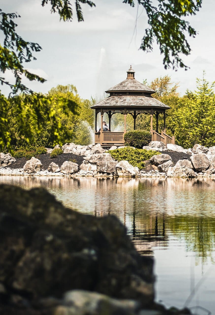 Gazebo Long-Shot at PA Drug Rehab Centers. PA Addiction Treatment